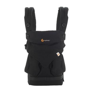 Porte bébé physiologique 4 positions 360 noir Ergobaby