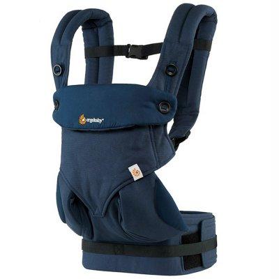 Porte-bébé physiologique 4 positions 360 bleu nuit Ergobaby