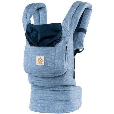 Porte-bébé physiologique original bleu vintage Ergobaby