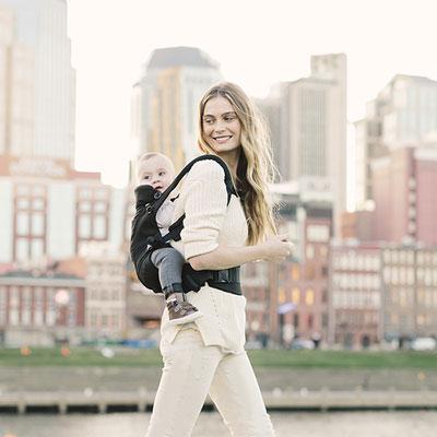Porte-bébé physiologique adapt noir Ergobaby