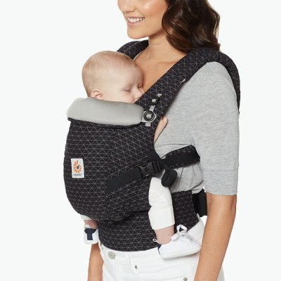 Porte-bébé physiologique adapt noir pixels Ergobaby