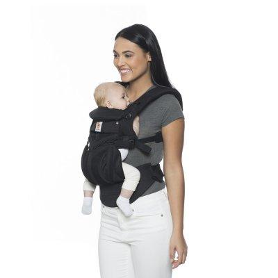 Porte-bébé physiologique adapt cool air mesh noir onyx Ergobaby