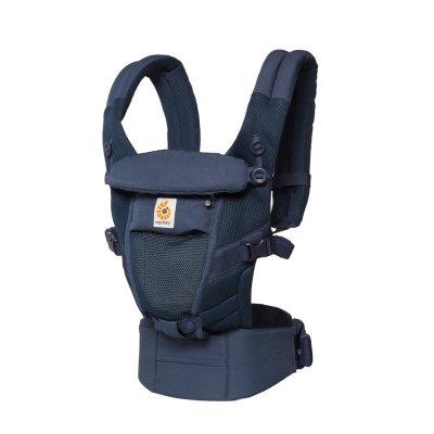 Porte-bébé physiologique adapt cool air mesh bleu profond Ergobaby