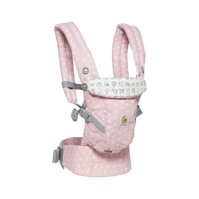 Porte-bébé physiologique adapt hello kitty rose playtime Ergobaby