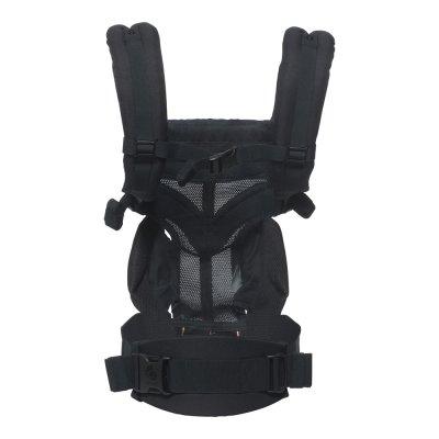 Porte-bébé physiologique omni 360 mesh noir onyx Ergobaby
