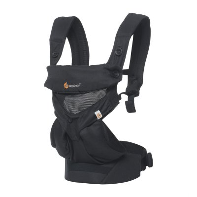 Porte-bébé physiologique 4 positions 360 cool air noir onyx Ergobaby