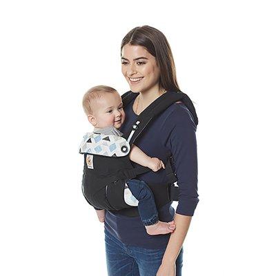 Porte-bébé physiologique 4 positions 360 triple tirangles Ergobaby