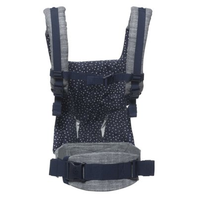 Porte bébé physiologique 4 positions 360 gris bleu nuit étoilé Ergobaby