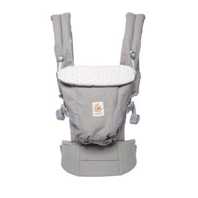 Porte-bébé physiologique adapt gris confetti Ergobaby