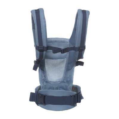 Porte-bébé physiologique adapt cool air mesh bleu gris Ergobaby