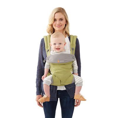 Porte bébé physiologique 4 positions 360 vert Ergobaby