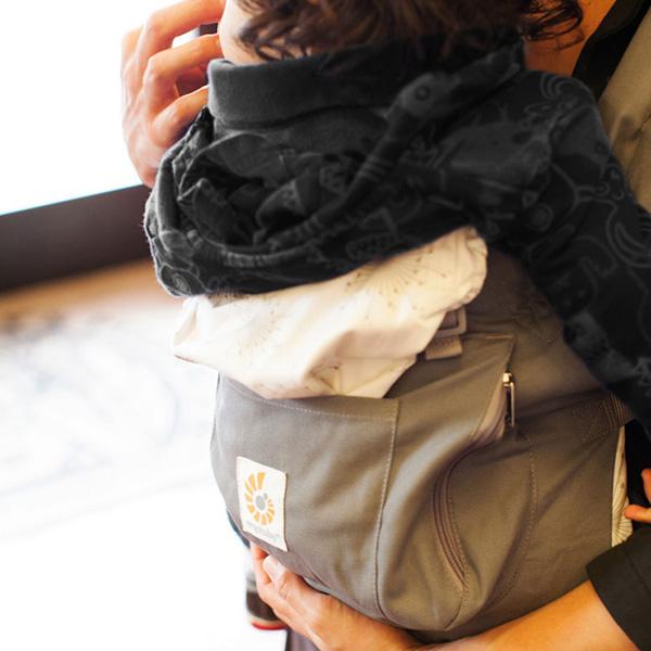 Porte bébé original gris starburst Ergobaby