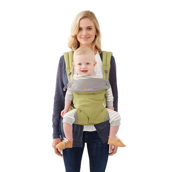 Porte bébé 4 positions 360 vert Ergobaby