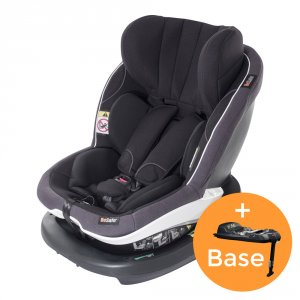 Pack siège auto izi modular i-size midnight black+base - groupe 0+/1