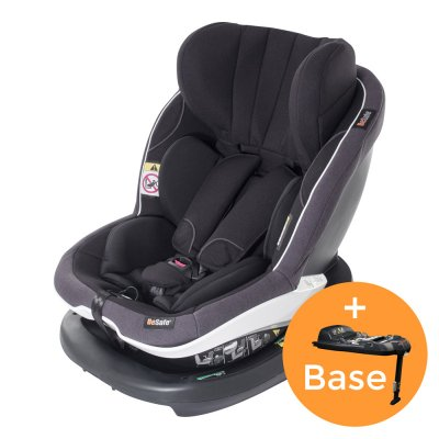 Pack siège auto izi modular i-size midnight black+base - groupe 0+/1 Besafe