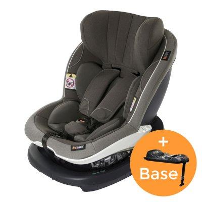 Pack siège auto izi modular i-size metallic mélange+base - groupe 0+/1 Besafe