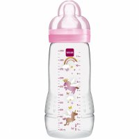 Biberon easy active 330ml rose tétine debit x