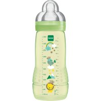 Biberon easy active 2eme âge 330ml mixte tétine debit x