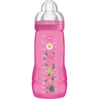 Biberon easy active 2eme âge 330ml fille tétine debit x
