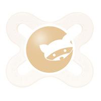 Sucette silicone 0-2 mois + boite de sterilisation raton laveur