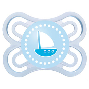 Sucette perfect 0-6 mois silicone bateau