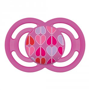 Sucette perfect 18 mois+ silicone rose
