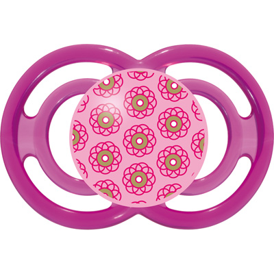 Mam Sucette perfect 18 mois+ silicone rose