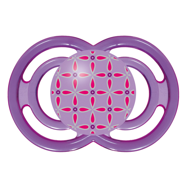 Sucette perfect 18 mois+ silicone violet Mam