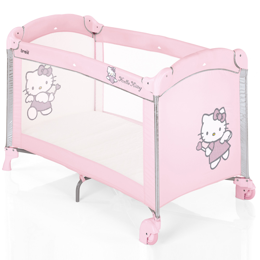 lit parapluie dolce nanna plus collection hello kitty 25 sur allob b. Black Bedroom Furniture Sets. Home Design Ideas