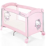 Lit pliant bébé dolce nanna plus collection hello kitty pas cher