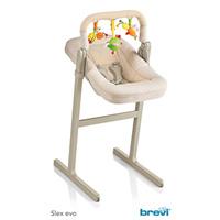 Nacelle transat + arceau de jeux pour chaise haute evo slex beige