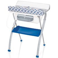 Table à langer avec baignorie lindo youpi bleu