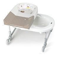 Combiné baignoire table à langer bagnotime bebes chocolat