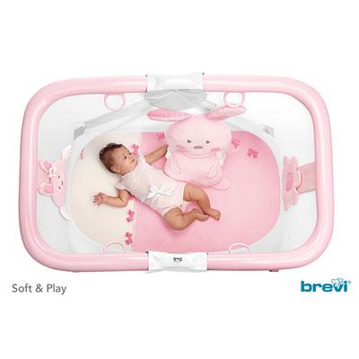 Parc bébé soft and play my little angel Brevi