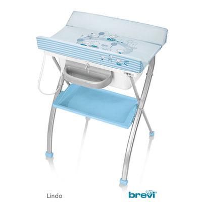 Table à langer avec baignoire lindo bebes ciel Brevi