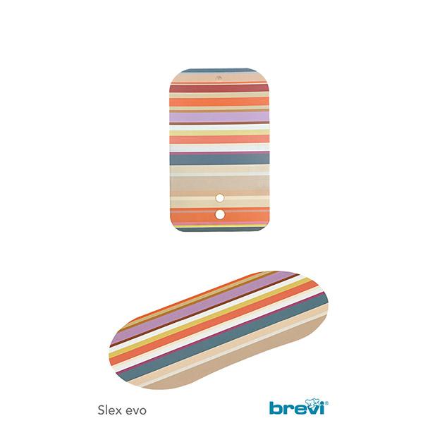 Kit dossier + set de tablette pour la chaise slex evo bayadere Brevi