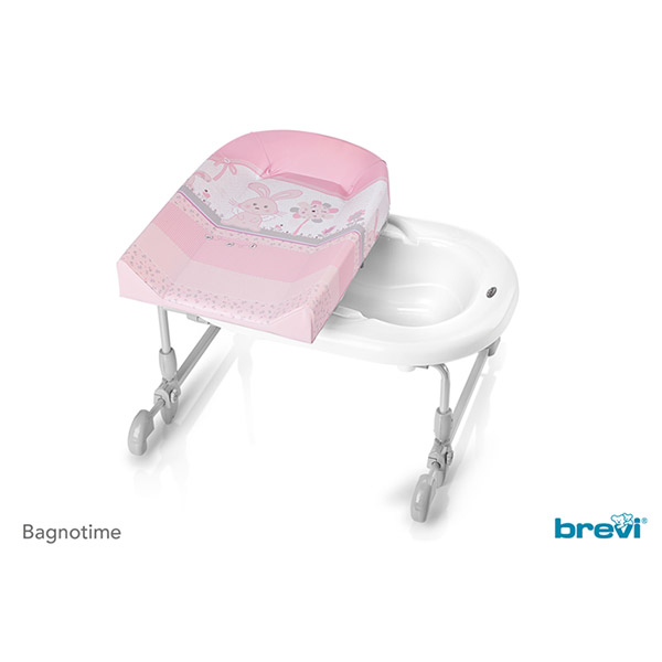 Combiné baignoire table à langer bagnotime my little angel Brevi