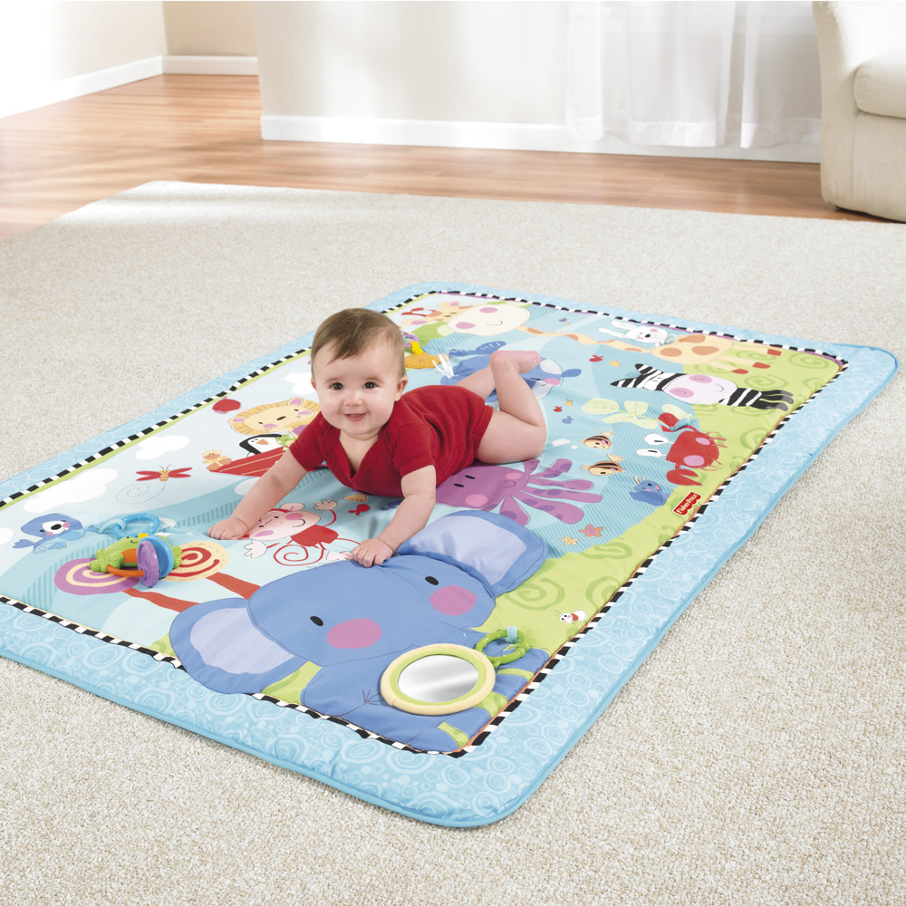TAPIS DE LA JUNGLE de Fisher-Price : Le Tapis du0026#39;u00e9veil de