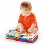 Livre bébé d'éveil interactif pas cher