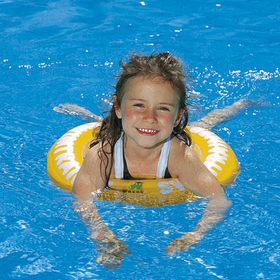 Bouee swimtrainer 4 à 8 ans jaune First swimtrainer