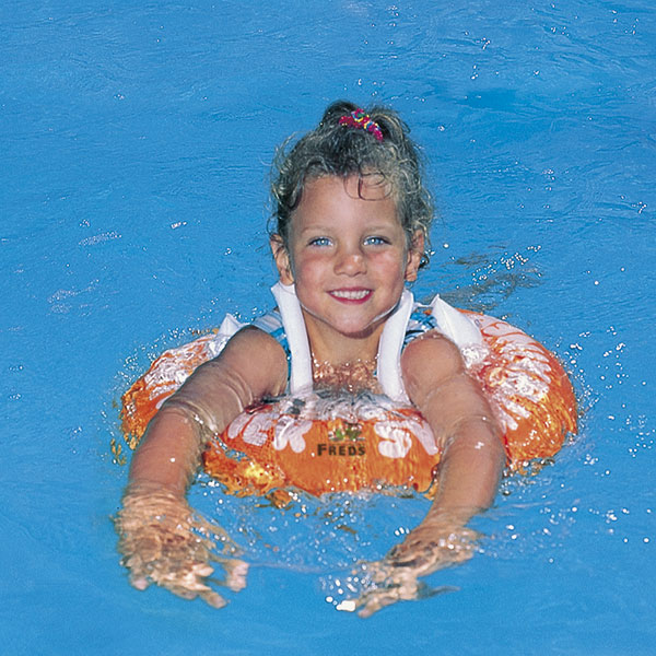 Bouee swimtrainer 2 à 6 ans orange First swimtrainer