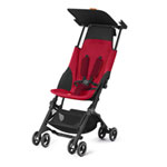 Poussette canne pockit + dragonfire red/red