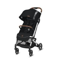 Poussette 4 roues qbit + city fashion edition velvet black