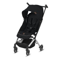 Poussette 4 roues pockit + city fashion edition velvet black/black