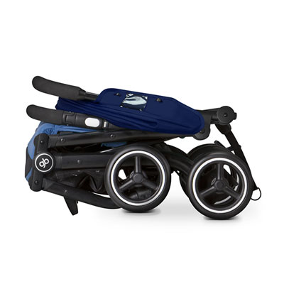 Poussette 4 roues qbit + sea port blue/navy blue Gb