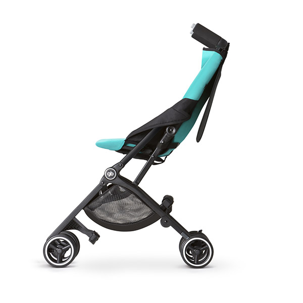 Poussette canne pockit turquoise Gb