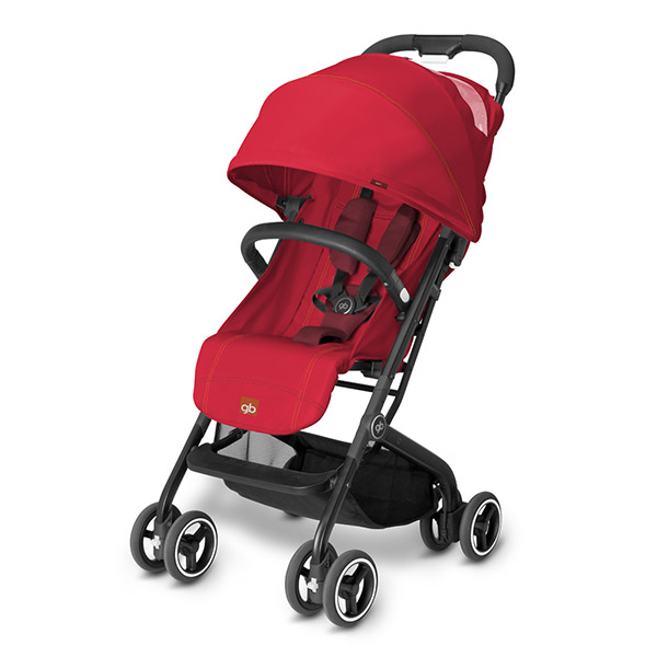 Poussette citadine qbit red Gb