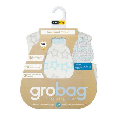 Gigoteuse grobag jacquard étoilé 0-6 mois The gro company