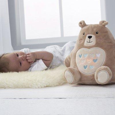 Peluche bébé aide au sommeil grofriend bennie l'ourson The gro company