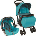 Poussette combiné duo mirage plus ts lake de Graco